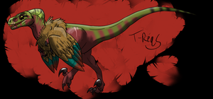 Archeops- Jurassic Park Inspired by T-Reqs