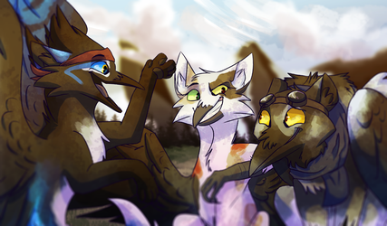 Trio by JAY-WlNG