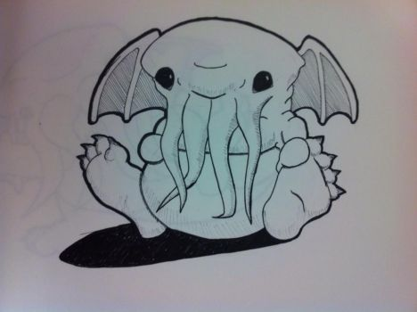Baby Cthulhu by Kammorremae
