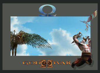 God of war Wallpaper by commanderlewis