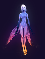 neon angel by juunc0