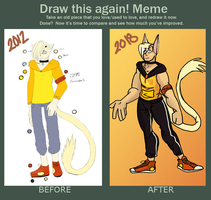 Before and After Meme by sonadow1012