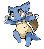 Blastoise by Myumimon