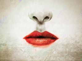 Lips .. by naderdes