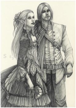 Commission: Shanye And Markus by SerenaVerdeArt