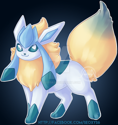 Flareon Glaceon by Seoxys6