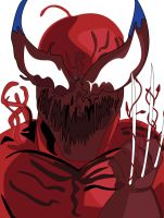 Wolverine with the CARNAGE symbiote by ProjectCornDog