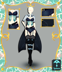 Outfit Adoptable (Auction) #56 CLOSE!!! by Tychees
