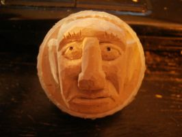 Another Carved Golfball by Des804
