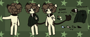 Koni (ref remake) by umiroo
