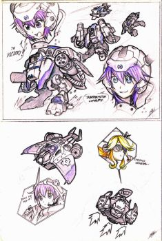 SC2xHDN - Squad Neptune! by Men-dont-scream