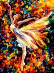 The Beauty Of Dance by Leonid Afremov