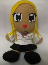 Ashley Plushie by KawaiiUsagiChanSan