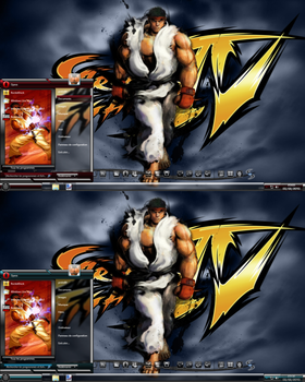 Street fighter theme Ryu by proto69