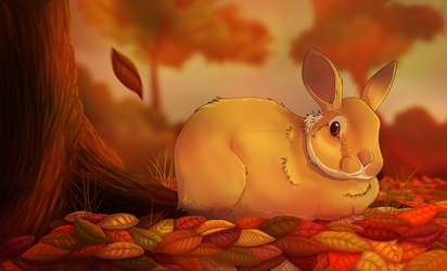 Autumn Fall by TheVerdantHare