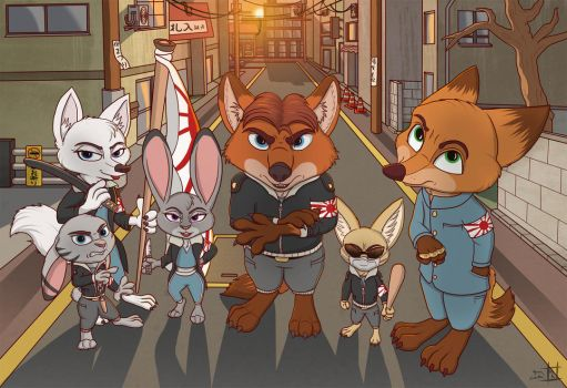 Troublemakers (No Font) by HyenaTig