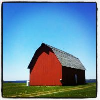Sackets Harbor, NY - Red Barn by MauserGirl
