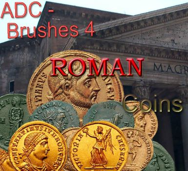 ADC brushes 4 -Roman Coins 1 by 4sundance