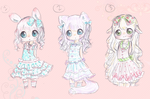 Adoptables Open! great prices! auction by PikoRuu