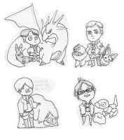 Shingeki no Pokemon legion by rompopita