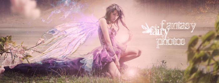 Fairy facebook cover by juliet981