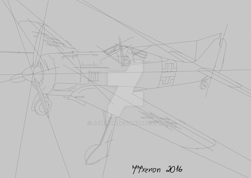 FW 190 - First Wip by jjxenon