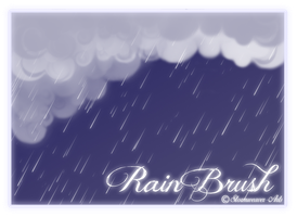 Rain Brush by Stormweaver-Arts