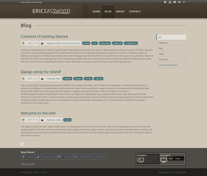 EricEastwood.com - Blog View by MadLittleMods