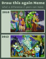 Meme: Before and After Scooby Doo by mannycartoon