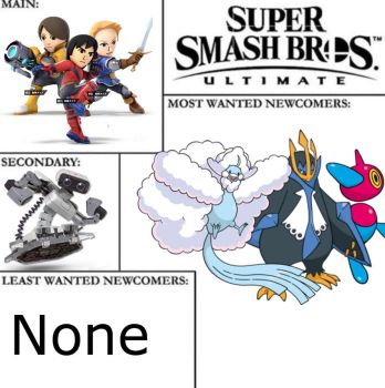 Super Smash Brother Ultimate Controversy Meme by Daidek