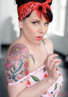cherry red lola by scottchurch