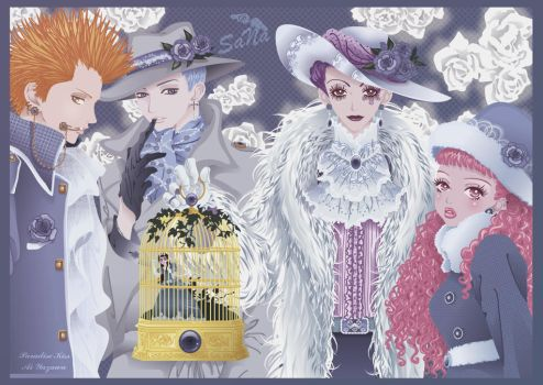 Paradise Kiss - Stage 34 by SaNa-AngEL