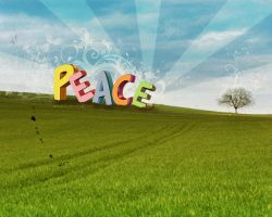 Peace by pincel3d