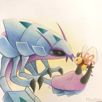Bug Friends!! by Phoelion