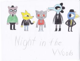 Night in the Woods by TheDarkOmega