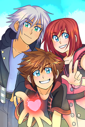 Kingdom Hearts 3 by SOLAR-CiTRUS