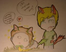 When pewdie left~:) by huey4ever