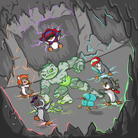 Mianite - Penguin Squad by ImmortalTanuki