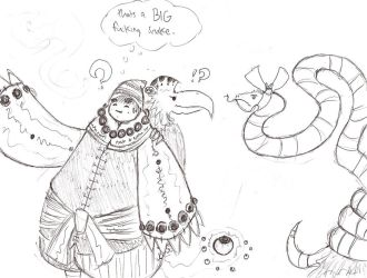 Snakes....Why Snakes by Elemental-Magus