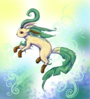Leafeon by MoonMouseStudio