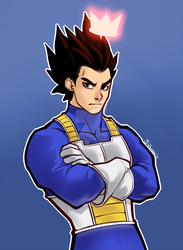 Prince Of Saiyans by SkechRoman