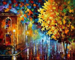 Magic Morning by Leonid Afremov by Leonidafremov
