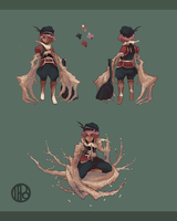 [CLOSED] Adoptable: Messenger Noid by Ippomoea