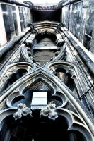 Edinburgh: Scot Tower Detail by basseca