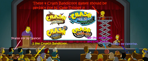 Lisa Wants 4 Crash Bandicoot Games Remaked by Prentis-65