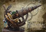 The Professor's Patented Steam Cannon by impsandthings