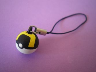 Ultra Ball Charm by Omonomopoeia
