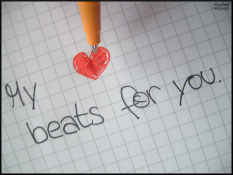 My Heart beats for u. by Absorbing-Fotography