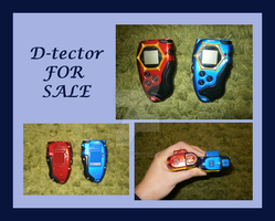 FOR SALE!  Two D-Tectors by Ishtar-Creations