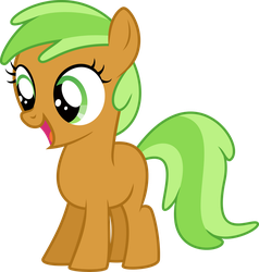 Apple Family Filly Vector by Kamyk962